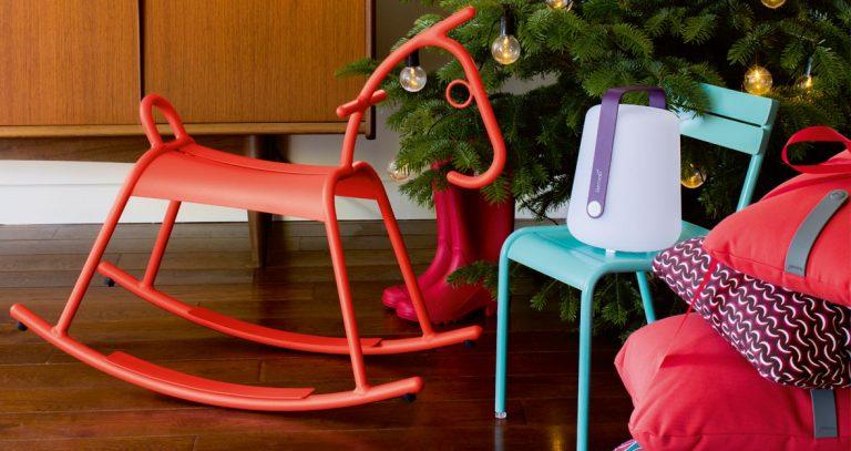 Adada rocking horse; Luxembourg Kid chair