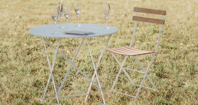 Bistro chair natural in Cotton White