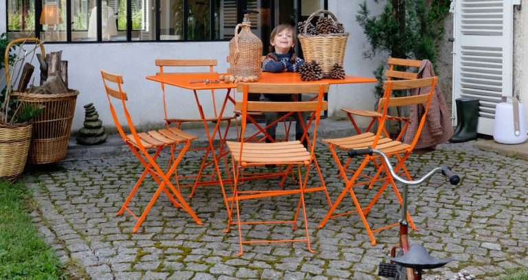 Bistro chair natural in Carrot