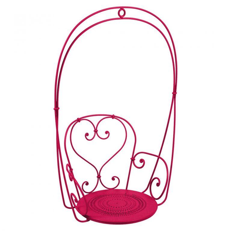 1900 hanging armchair in Pink Praline