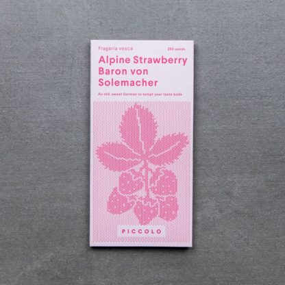 Alpine Strawberry 'Baron von Solemacher'