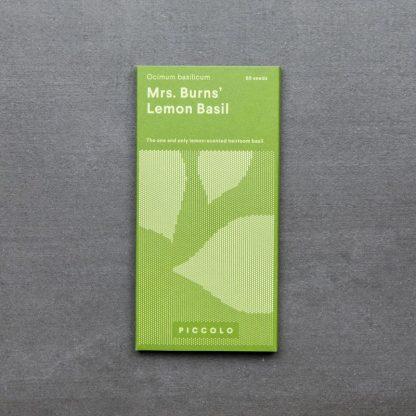 Lemon Basil 'Mrs. Burns'