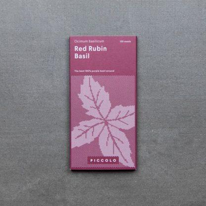 Basil 'Red Rubin'