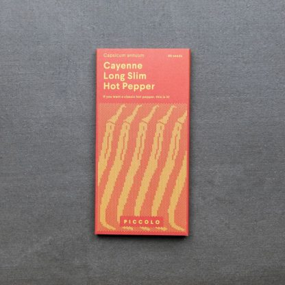 Hot Pepper 'Cayenne Long Slim'