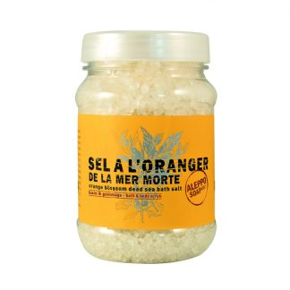 Orange Blossom Dead Sea salt