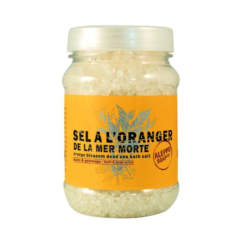 Orange Blossom Dead Sea salt