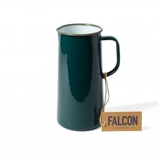 Falcon enamel 3 pint jug in Samphire Green