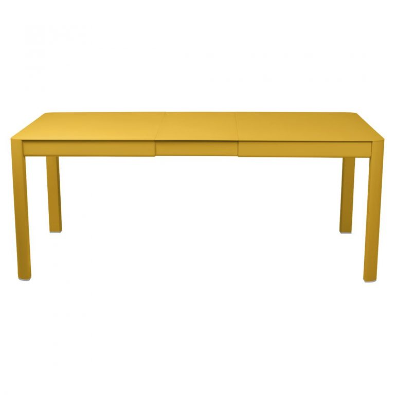Ribambelle extending table with one extension in Honey