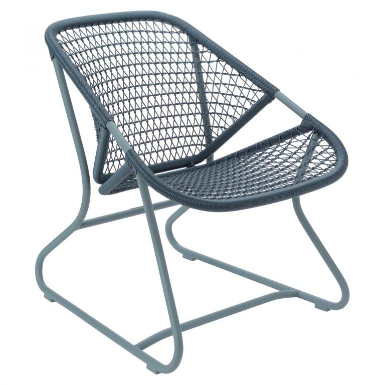 Sixties armchair in Storm Grey