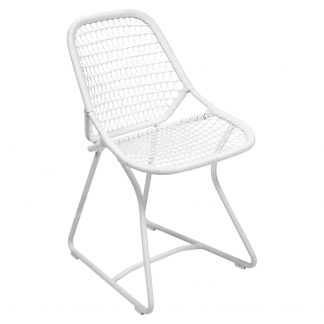 Sixties chair in Cotton White