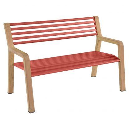 Somerset bench in Capucine