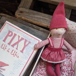 Pixy elfie girl in box