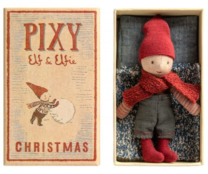 Pixy elf in a box