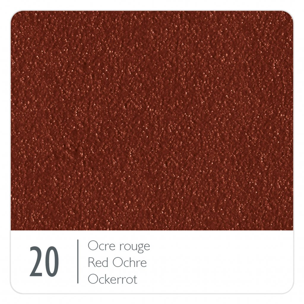 Colour swatch for the colour Red Ochre (20)