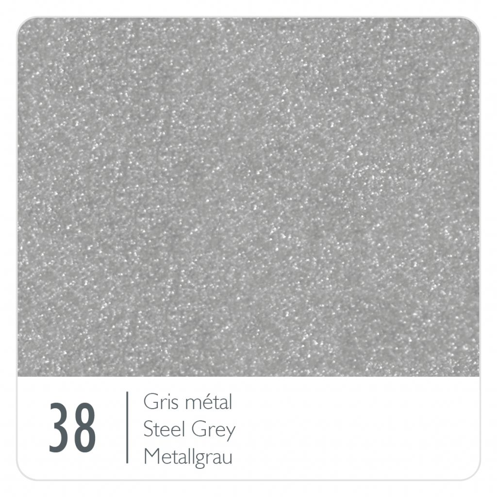 Colour swatch for the colour Steel Grey (38)