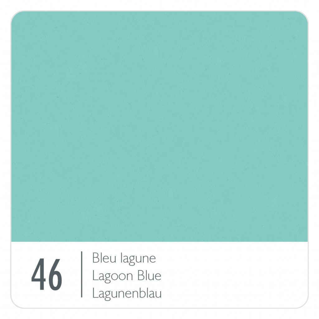 Colour swatch for the colour Lagoon Blue (46)