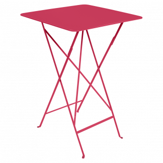 Bistro high table 71 cm by 71 cm in Pink Praline