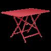 Bistro rectangular table, 117 cm by 77 cm in Poppy