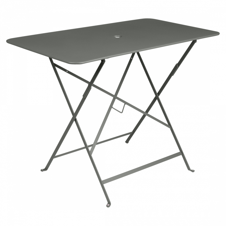 Bistro rectangular table, 97 cm by 57 cm in Rosemary