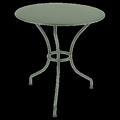 Opéra+ round table, 67 cm diameter in Cactus