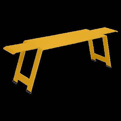 Origami bench in Honey