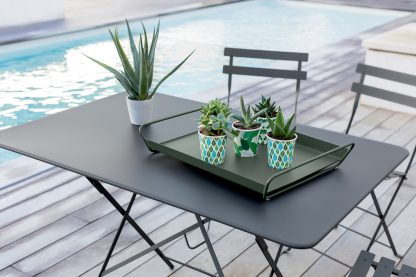 Bistro Table 117 By 77 Cm By Fermob Available From Le Petit Jardin