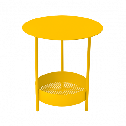 Salsa round table in Honey