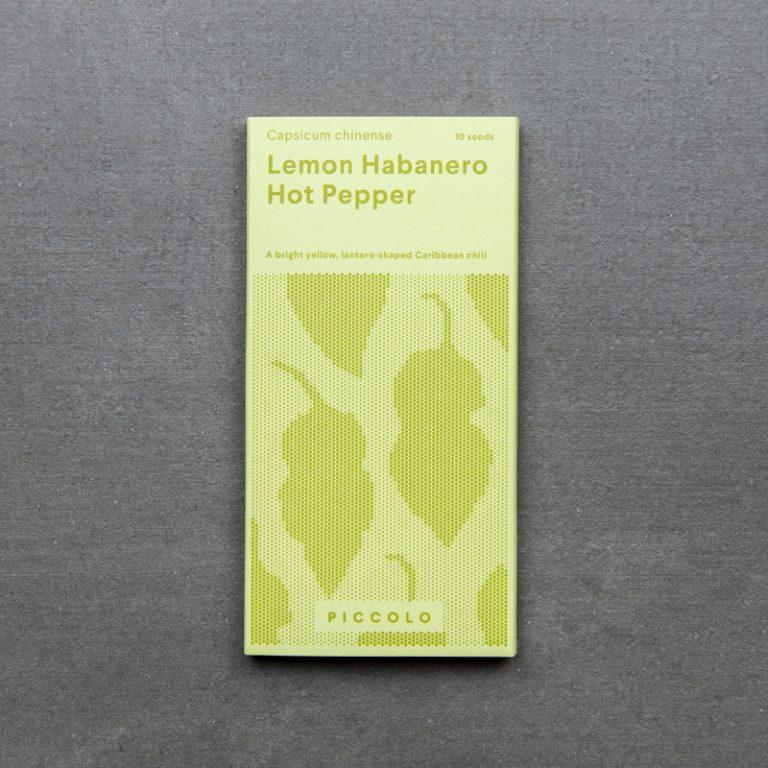 Hot Pepper 'Lemon Habanero'